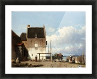 Luchtschappen Picture Frame print