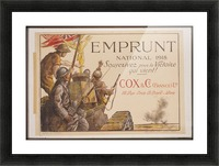 Vintage---Tank-Warfare Picture Frame print