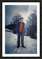 Sunday in winter Picture Frame print