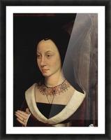 Portrait of Maria Portinari, 1475 Picture Frame print