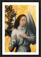 Angel with an Olive Branch Emblem of Divine Peace Picture Frame print