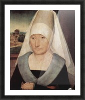 Portrait of an old woman, 1472 Picture Frame print