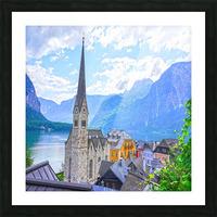 One Fine Day in Hallstatt Austria Picture Frame print