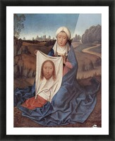 Saint Veronica, 1475 Picture Frame print