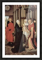 Adoration of the Magi Right wing of triptych, depicting the Presentation in the Temple Picture Frame print