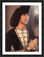 Portrait of a Young Man, 1490 Picture Frame print