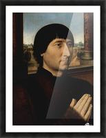 Portrait of Willem Moreel Picture Frame print