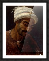 Head of an Arab Picture Frame print