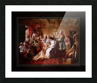 The Russian Brides Attire by Konstantin Makovsky Classical Fine Art Xzendor7 Old Masters Reproductions Picture Frame print