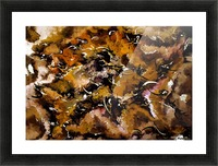 Autumnal Cut Picture Frame print