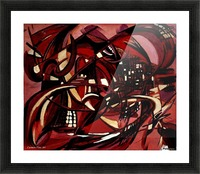 Intimate Still Life with Incidental Intensity Picture Frame print