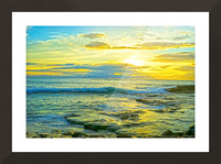 Sunset in Paradise   Hawaii Picture Frame print
