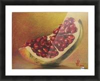 pomegranate by Vali Irina Ciobanu Picture Frame print