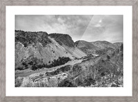 Cliffs of la Grande Falaise Picture Frame print