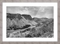 Cliffs of la Grande Falaise Picture Frame print
