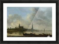 Blick auf Emmerich Picture Frame print