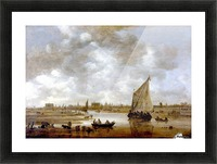View of Leiden from the Northeast Picture Frame print