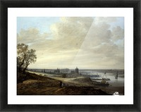 Panorama Landscape with a View of Arnhem Picture Frame print