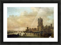 Cathedral by the River Picture Frame print