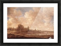 View of Leiden Picture Frame print