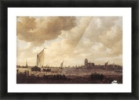 View of Dordrecht Picture Frame print