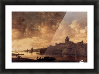 View of Nijmegen Picture Frame print