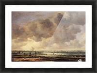 View of the Haarlemmermeer Picture Frame print