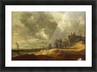 Shore at Scheveningen Picture Frame print