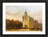 Gouda stadhuis Picture Frame print