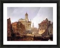 View On Utrecht Sun Picture Frame print
