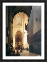 Hooglandse Kerk Leiden Sun Picture Frame print