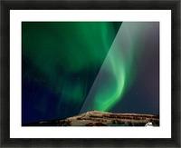 Aurora swirl Picture Frame print