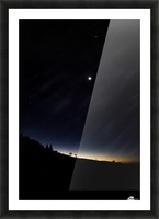 East star  Picture Frame print