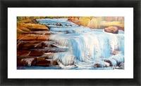 Carpatian cascade    Picture Frame print