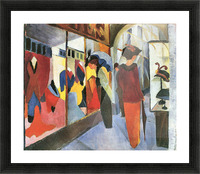 Fashion Store by August Macke Picture Frame print