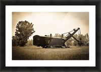 Yesteryear Picture Frame print