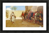 Army Reorganisation in Morocco 1872 Picture Frame print