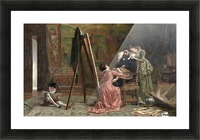 Ars Longa, Vita Brevis 1877 Picture Frame print