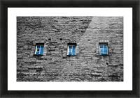 Blue Windows Picture Frame print