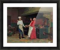 The Marvelous Sauce, 1890 Picture Frame print