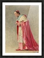 The cardinal Picture Frame print