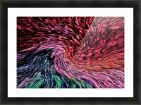 Color Wave Picture Frame print