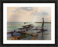 Stepping Stones Picture Frame print