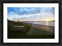 Sunset at the Park Picture Frame print