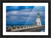 Tall ship . St Lawrence II Picture Frame print
