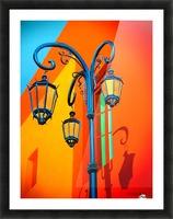 La Boca Lamp Shadows II Picture Frame print