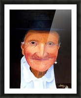 Lady With the Pearl Earrings Picture Frame print