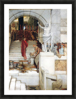 After the Audience by Alma-Tadema Picture Frame print