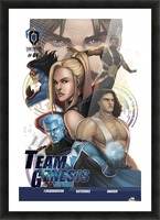 Team Genesis 01: Pleasant Introductions Picture Frame print