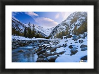 Valnontey torrent, Gran Paradiso National Park; Italy Picture Frame print